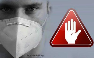 Coronamondkapje-fabrikant waarschuwt voor giftige bestanddelen