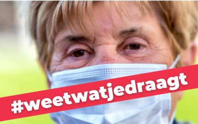 """Stoffen gratis mondmaskers via apotheken mogelijk giftig"""